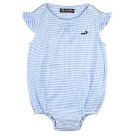 『小鱷魚童裝』條紋連身褲