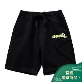 『小鱷魚童裝』LOGO印圖休閒棉褲