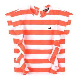 『小鱷魚童裝』亮彩條紋上衣