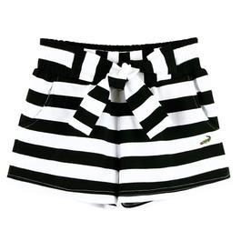 『小鱷魚童裝』純棉條紋短褲