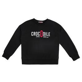 『小鱷魚童裝』短版LOGO T恤