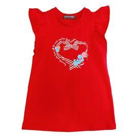 『小鱷魚童裝』玫瑰貼鑽洋裝