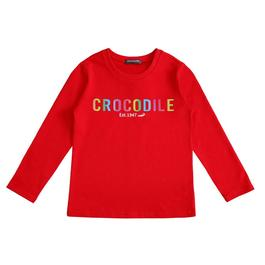 『小鱷魚童裝』彩色LOGO  T恤