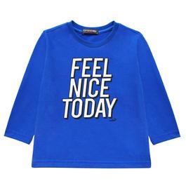 『小鱷魚童裝』FEEL NICE TODAY純棉印圖T恤