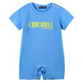 『小鱷魚童裝』印圖連身褲