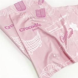 『小鱷魚』運動涼感巾-粉色