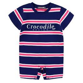 『小鱷魚童裝』條紋連身裝